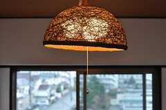 照明の様子。(201号室)(2012-03-23,専有部,ROOM,5F)