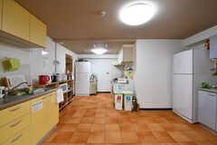 キッチンの様子。(2017-01-16,共用部,KITCHEN,1F)
