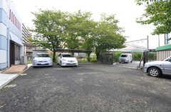 駐車場の様子。(2015-09-01,共用部,OTHER,1F)