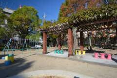 シェアハウス近くの公園。(2015-11-28,共用部,ENVIRONMENT,1F)