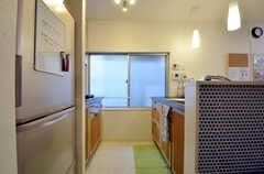 キッチンの様子2。(2015-02-03,共用部,KITCHEN,1F)