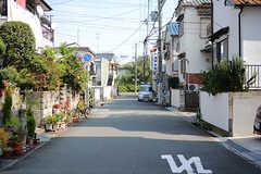 周辺は穏やかな住宅街です。(2017-10-11,共用部,ENVIRONMENT,1F)