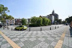 阪急神戸本線・武庫之荘駅前のロータリーの様子。(2017-10-11,共用部,ENVIRONMENT,1F)