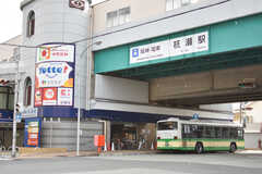 阪神本線・杭瀬駅の様子。(2017-02-13,共用部,ENVIRONMENT,1F)