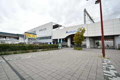 阪神本線・尼崎センタープール前駅の様子。(2019-10-08,共用部,ENVIRONMENT,1F)
