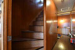階段の様子。(A棟)(2017-04-04,共用部,OTHER,2F)
