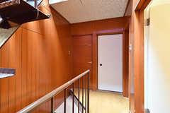 廊下の様子。(A棟)(2017-04-04,共用部,OTHER,3F)