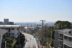 屋上からの景色。(A棟)(2017-04-04,共用部,OTHER,4F)