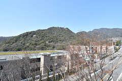 屋上からの景色2。(A棟)(2017-04-04,共用部,OTHER,4F)
