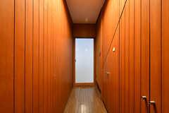 廊下の様子。(B棟)(2017-04-04,共用部,OTHER,2F)