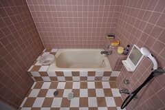 バスルームの様子。(B棟)(2017-04-04,共用部,OTHER,3F)