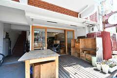 A棟1Fの店舗の様子。(2017-04-04,共用部,OTHER,1F)