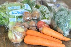 全国から取り寄せたオーガニック野菜を販売しています。(2017-04-04,共用部,OTHER,1F)