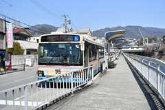 阪急電鉄神戸本線・芦屋川駅前のバス停。(2017-04-04,共用部,ENVIRONMENT,1F)
