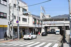 阪急電鉄神戸本線・芦屋川駅前の様子。(2017-04-04,共用部,ENVIRONMENT,1F)
