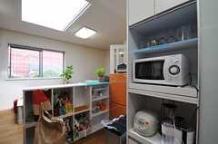 キッチン家電の様子。(2013-07-02,共用部,KITCHEN,2F)