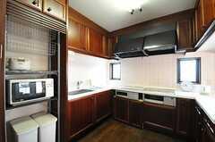 キッチンの様子2。(2014-02-04,共用部,KITCHEN,2F)
