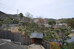 物干し場からの眺め。見晴らしが良いです。(2014-02-04,共用部,KITCHEN,2F)