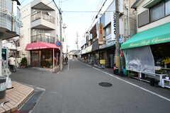 駅前の商店街の様子。(2018-01-24,共用部,ENVIRONMENT,1F)