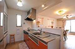 キッチンの様子。(2012-07-14,共用部,KITCHEN,2F)