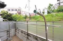 専用庭の様子。(102号室)(2012-07-14,専有部,ROOM,1F)