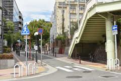 各線・元町駅周辺の様子5。(2017-09-14,共用部,ENVIRONMENT,1F)
