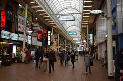 元町商店街の様子。(2015-03-02,共用部,ENVIRONMENT,1F)