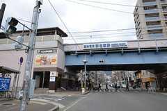 阪神本線・新在家駅の様子。(2015-01-13,共用部,ENVIRONMENT,1F)