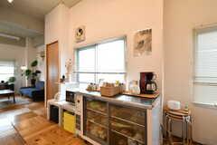 店舗用の冷蔵庫も設置されています。(2018-01-16,共用部,KITCHEN,5F)