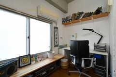 共用オフィススペースの様子3。(2018-01-16,共用部,OTHER,5F)
