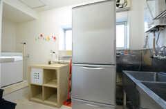 3Fには冷蔵庫が設置されています。(2015-10-20,共用部,OTHER,3F)