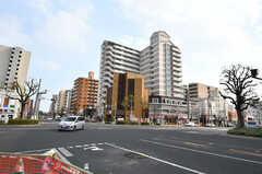 神戸電鉄・湊川駅前の様子。(2019-03-26,共用部,ENVIRONMENT,1F)