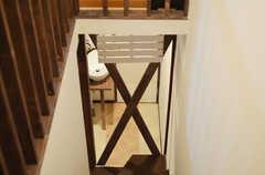 階段の様子。(2012-11-27,共用部,OTHER,2F)