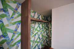 収納の様子。(203号室)(2012-12-17,専有部,ROOM,2F)