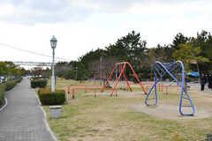 最寄りの公園。(2017-12-11,共用部,ENVIRONMENT,1F)