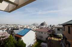 窓からの眺め。(202号室)(2013-04-01,専有部,ROOM,1F)