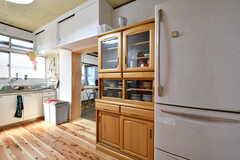 食器棚上部には調味料も収納できます。(2017-01-16,共用部,KITCHEN,1F)