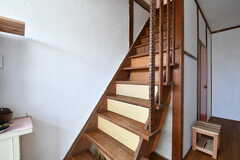 階段の様子。(2017-01-16,共用部,OTHER,1F)