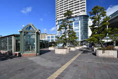 山陰本線・舞子駅前の様子。(2017-01-16,共用部,ENVIRONMENT,1F)