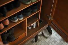 靴箱の様子。(2013-03-30,周辺環境,ENTRANCE,1F)