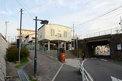 山陽鉄道・霞ヶ丘駅の様子。(2013-03-30,共用部,ENVIRONMENT,1F)