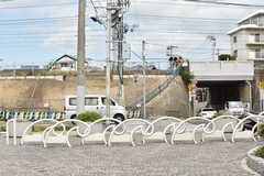 舞子公園の柵は波の形状です。(2017-09-14,共用部,ENVIRONMENT,1F)