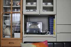 キッチン家電の様子。(2013-03-30,共用部,LIVINGROOM,1F)