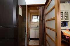 脱衣室の様子。(2013-03-30,共用部,BATH,1F)