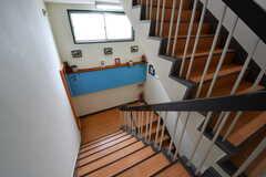 階段の様子。(2017-05-17,共用部,OTHER,3F)