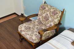 椅子の様子。(302号室)(2017-05-17,専有部,ROOM,3F)