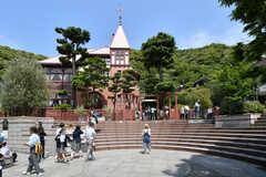 シェアハウス周辺の神戸北野異人館の様子。(2017-05-17,共用部,ENVIRONMENT,1F)