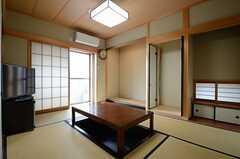 リビングの様子。和室です。(2013-03-14,共用部,LIVINGROOM,6F)