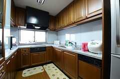キッチンの様子2。(2013-03-14,共用部,KITCHEN,6F)