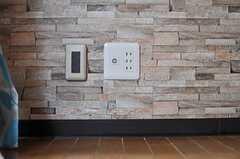 各部屋にはTV端子が配備されています。(602号室)(2013-03-14,専有部,ROOM,6F)